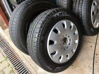 VW T5 Genuine Wheel Trims