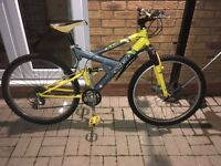 Men's full suspension mountain bike
