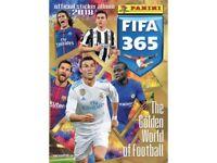 Panini FIFA 365 2018 Sticker Swaps