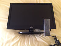 Small TV with DVD player built in