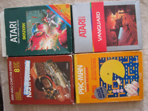 27 Atari Games complete with boxes & instructions