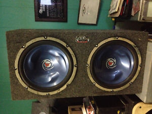 """12"""" Subs with Amp"""