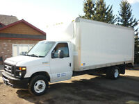 2010 Ford E-350 Cube Van...LOW KMS, Financing Available!