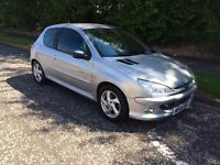 2005 Peugeot 206 quicksilver