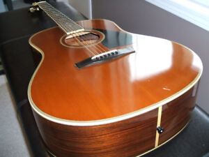Beautiful Yamaha Acoustic Guitar