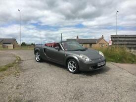 2004 04 Toyota MR2 1.8 VVT-i Roadster Red Special Edition