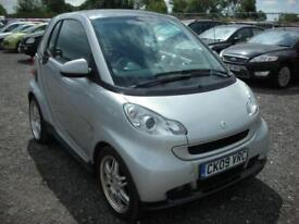 2009 09 SMART FORTWO 1.0 PASSION 2D AUTO 130 BHP