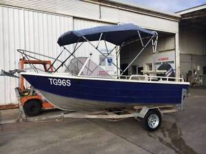 Seabird 4.3m Aluminum Runabout 50hp Mercury 4 Stroke Outboard Blair Athol Port Adelaide Area Preview