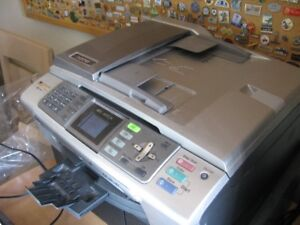 Brother Printer Fax Scan Copy no ink with it