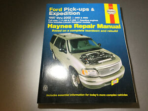 1997-02 Ford F150 F-250 Expedition Lincoln Navigator Shop Manual