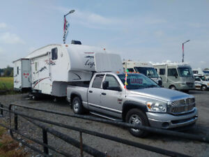 2008 Legends 5th Wheel  (Package with 2007 Dodge Ram 2500)