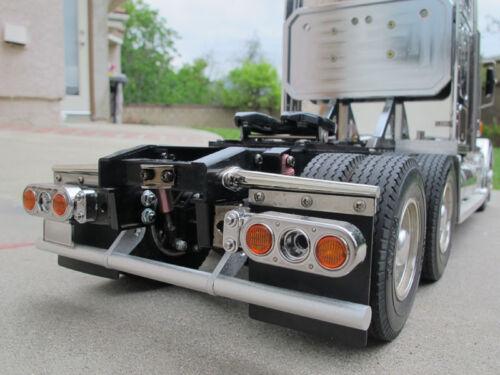 New Rear Bumper Bar Guard Set Tamiya 1/14 Knight Hauler Man Scania RC Truck