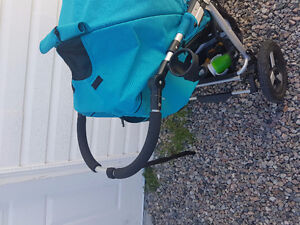 Beautiful high end bumbleride indie stroller with bassinet