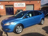 2008 Ford Focus 1.6 16v Style ( 100ps ) Blue 5dr Hatch, **DEPOSIT NOW TAKEN**