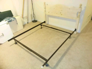 Bed Frame, Solid Wood, Double size