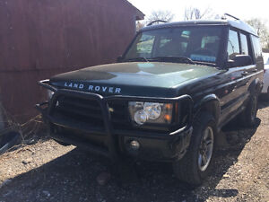 2003 Land Rover Discovery Se7 auto Km198000 Asis $1700