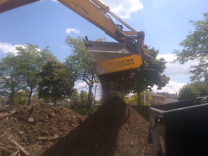 Topsoil Screening Bucket for Excavator