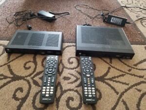 Shaw satellite hd pvr and receiver
