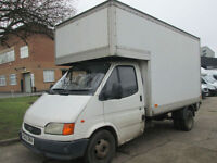 1998 Ford Transit 2.5 Diesel Luton Box. Twin Wheels. Old Smiley Face Van. NO VAT