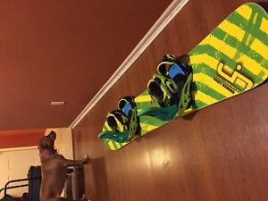 Libtech skate banana with bindings