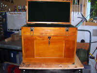 Machinist wooden tool chest