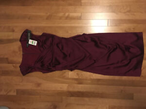 Brand New with Tags Burgundy dress from LeChateau