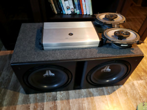 JL Audio subwoofers & car audio components