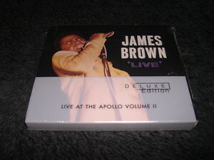 James Brown - Live at the Apollo vol.2 Deluxe digipak Soul Funk