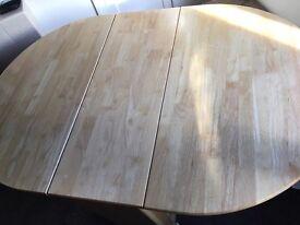 Fold away table