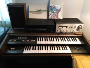 FREE for Pickup Double Keyboard Yamaha Electone D-65 works well