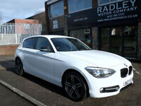 2013 BMW 116 2.0TD ( bhp ) ( s/s ) Sports Hatch D Sport 5DR 13REg Diesel White