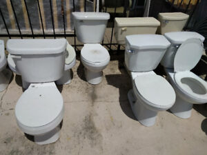 Used Toilets and Patio Chairs for Sale!