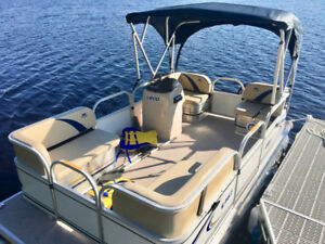 Pontoon 14Ft /16 Ft or 18Ft with Motor * Starting $14,995 - NS