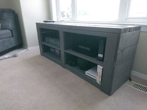Hand Built TV Stand