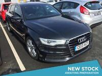 2013 AUDI A6 2.0 TDI S Line Multitronic Auto Sat Nav Leather Bluetooth