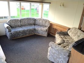 BARGAIN STATIC CARAVAN HOLIDAY HOME FOR SALE OCEAN EDGE MORECAMBE NR LAKES NORTH WEST NOT HAVEN