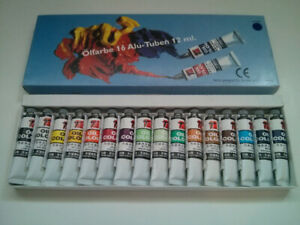 Olfarbe Oil Paints from Switzerland