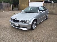 BMW 320 M Sport Automatic 2003 Coupe Service History Full Leather