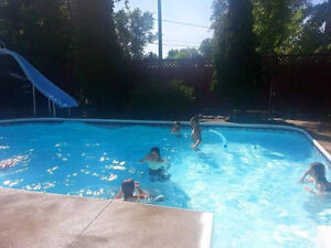 ABOVE GROUND POOL SLIDE.-- compare at  $2795.00