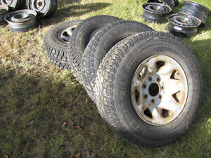 Rare 7 bolt ford truck rims and tires Prince George British Columbia image 3