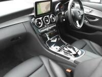 Mercedes-Benz C Class C 220 D SPORT PREMIUM PLUS (silver) 2017-02-01