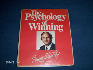 THE PSYCHOLOGY OF WINNING-6 AUDIO CASSETTES-D. WAITLEY