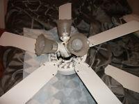 1 ventilateur de plafond