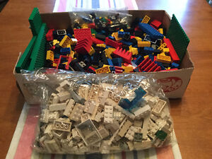 1980's. Lego, Box and Bag full