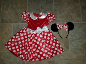 Size 2-3 Minnie Mouse Costume