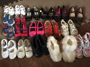 Girl Baby and Toddler Shoes (size 1-9) Peterborough Peterborough Area image 1