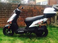 KYMCO DJ50s ( bought Sept 2015 - warranty till Sept 2017