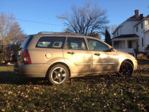 2004 Ford Focus ZTW Wagon with Winter Tires on Rims