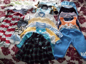 Baby Boy's Clothing 6-12 Months