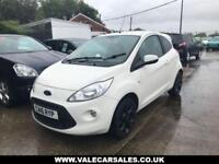 2016 16 FORD KA 1.2 ZETEC WHITE EDITION (ONE OWNER) 3DR